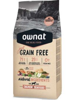 GRAIN FREE JUST Saumon &...