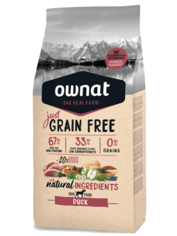 GRAIN FREE JUST Canard DOG