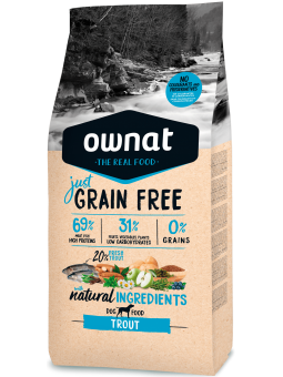 GRAIN FREE JUST Truite DOG